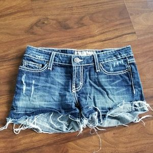 Women's DENIM shorts BUCKLE Stella